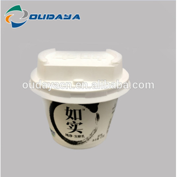Customized PP Ice Cream Packaging Box Yoghurt Container