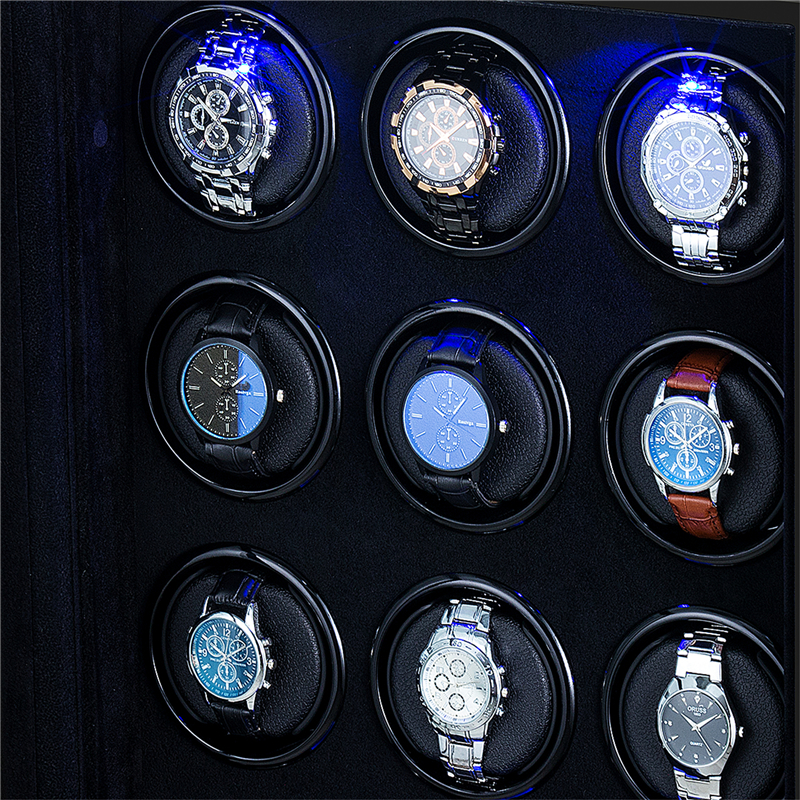 Collector watches box watch case leather