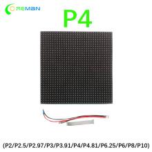 HD led display screen board module pixel 4mm led dot matrix module 32x32 p4 led module