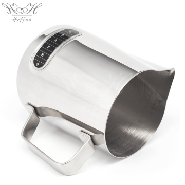 Stainless Steel Creamer Frothing Pitcher With Thermometer