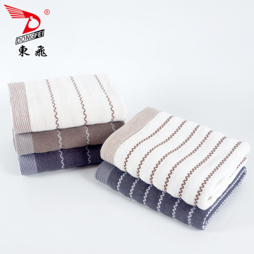 classic yarn dyed stripe jacquard terry towel