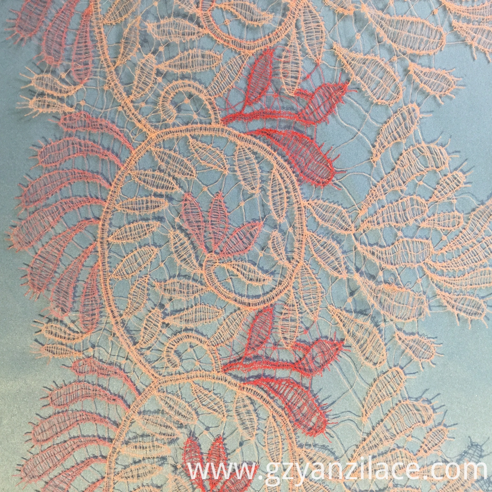 Embroidered Lace Trim
