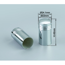 High quality perfume bottle covers with aluminum collar