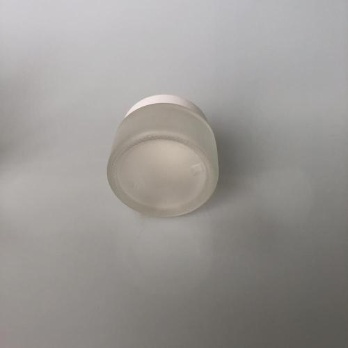 50ml frosted jar with lid