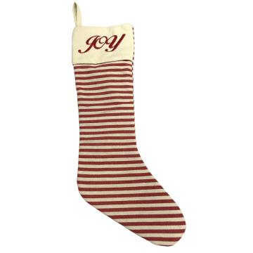 Llarge streak  Christmas stocking