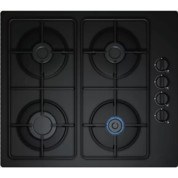 Black Gas Cooker 60CM