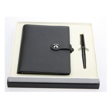Cowhide Leather Loose Leaf Stone Notebook