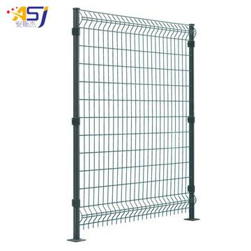 high security steel wire mesh fencing panels