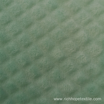 100% Polyester Double-sided  Cutting Flannel Fabric