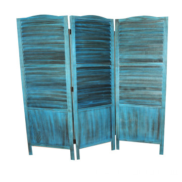 High quality wooden folding wooden room divider screen