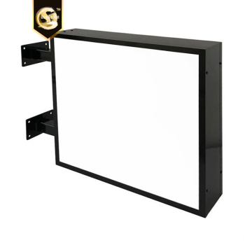 Square Lightboxes Signage Projecting Light Box