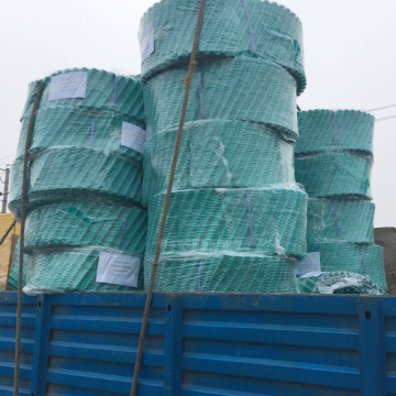 PVC Film Round Cooling Tower Filling Pack Industrial Cooling Tower Fill Media
