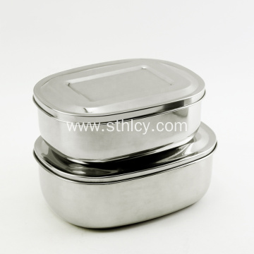 3 Compartment Stainless Steel 201 Bento Lunch Box