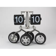 Four Wheels  Funny Flip Clock