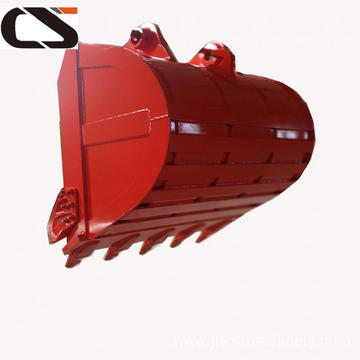 PC200 wearable heavy duty excavator rock bucket
