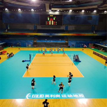 FIVB RECOMMENDED High Quality Vinyl Volleyball Flooring
