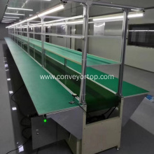 Custom Industrial Moving Rubber Belt Conveyor Systems