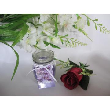 Lavender Scented  Premium Paraffin Glass Candle