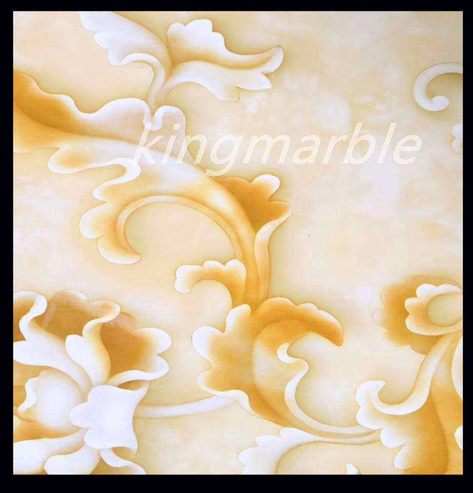 High Glossy UV Coated PVC Marble Sheet /PVC Panel