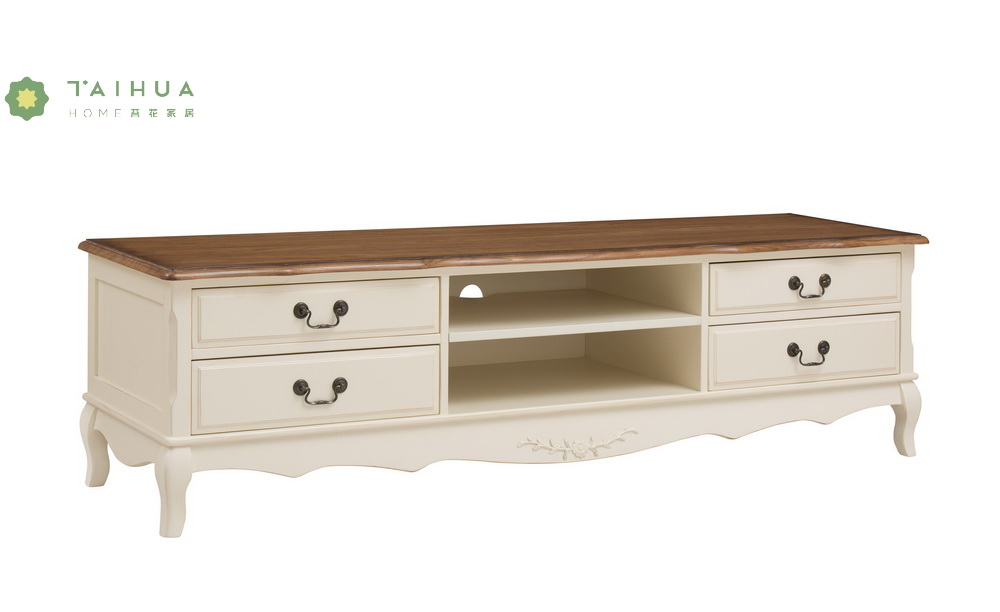 Four Drawers TV Stand