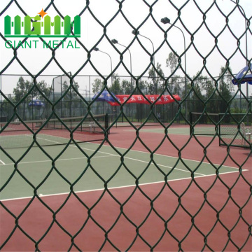 PVC coating wire mesh galvanized chain link fence