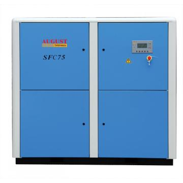 75kw/100hp rotary screw air compressor