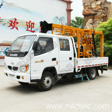 230m Hydraulic Truck Mounted Drilling Rig