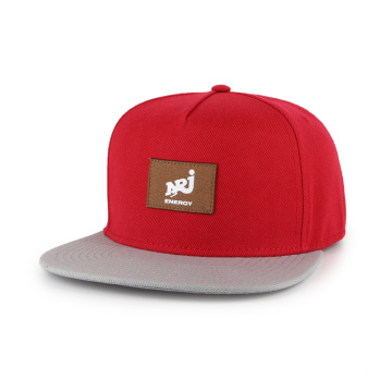 5 panel acrylic wool snapback hat