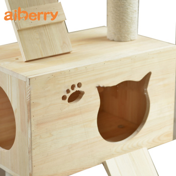 Custom Fashion Deluxe Foldable Luxury Cat House Tower