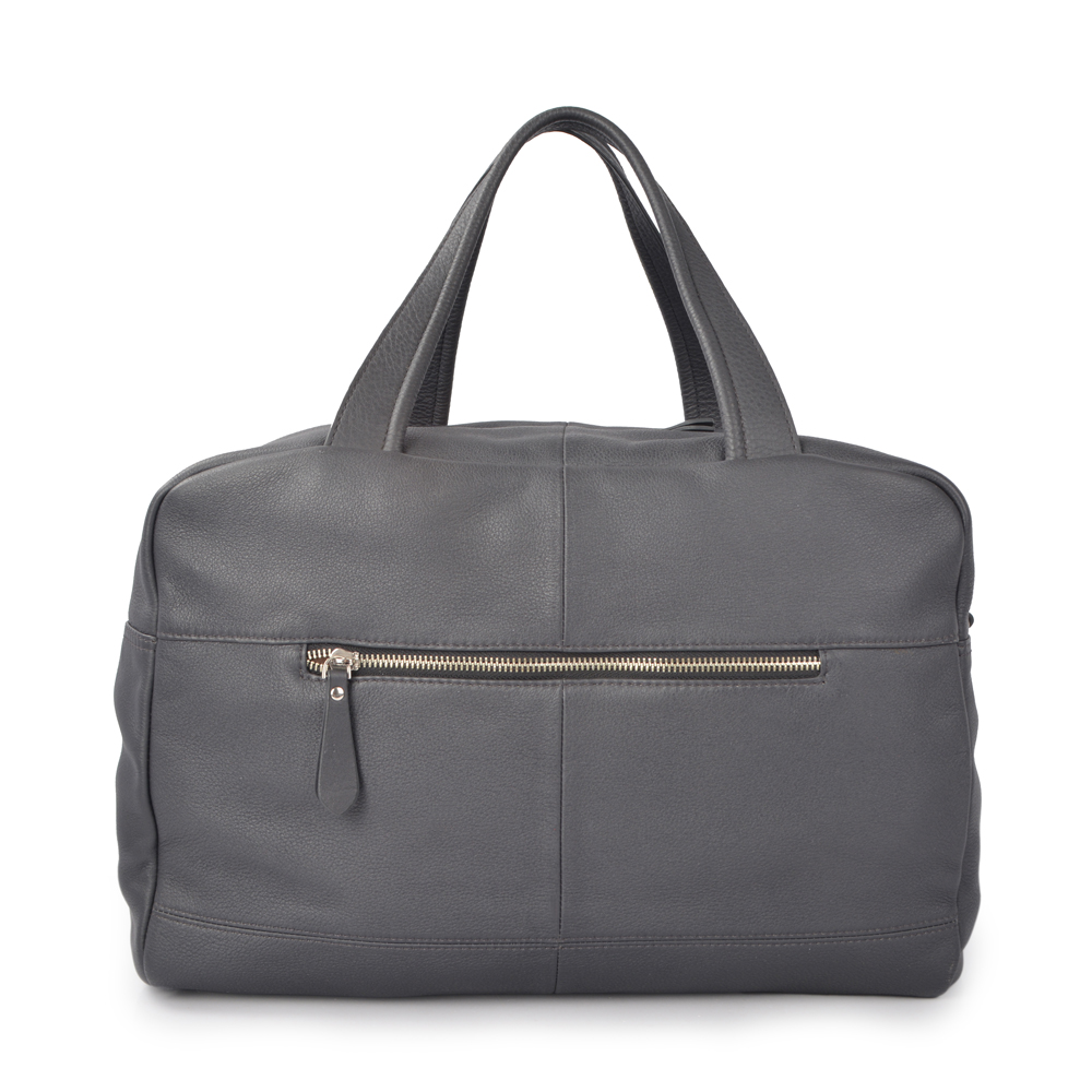 high end luxury travel bag genuine leather duffle bag