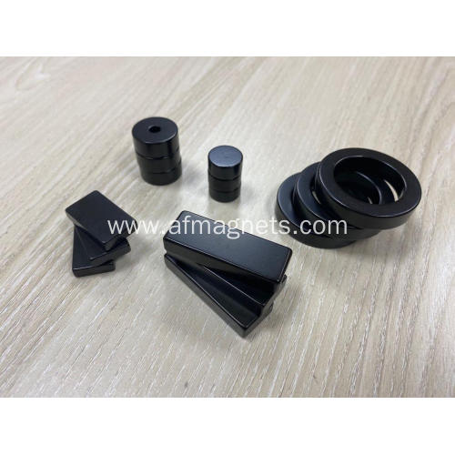 Neodymium Magnets Black Epoxy Coated