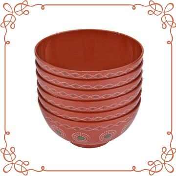 7 Inch Melamine Deep Bowl Set of 6