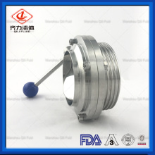 Stainless Steel Weld / Thread Butterfly Valve