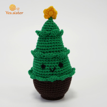 Lovely Crochet Christmas Tree Baby Doll Gifts
