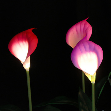 Outdoor Calla Lily Lights