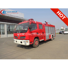 2019 New Dongfeng 3500litres water fire rescue trucks