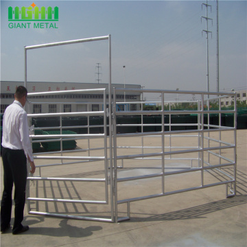 Galvanized livestock panels cattle fence used horse fence