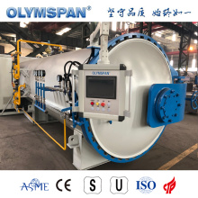 ASME standard composite treatment autoclave