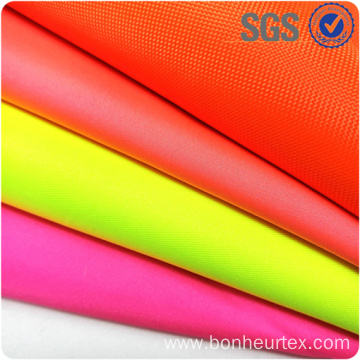 High Vis Breathable PU Coating EN343 Fabric