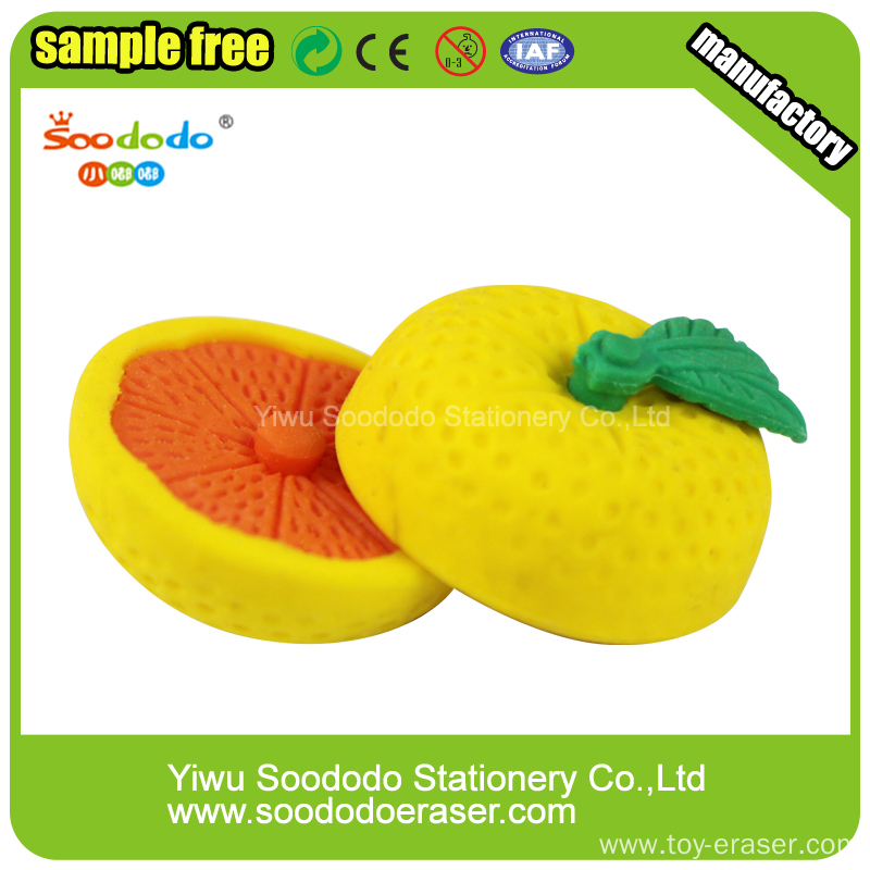 Banana Shaped Eraser,cartoon erasers for office