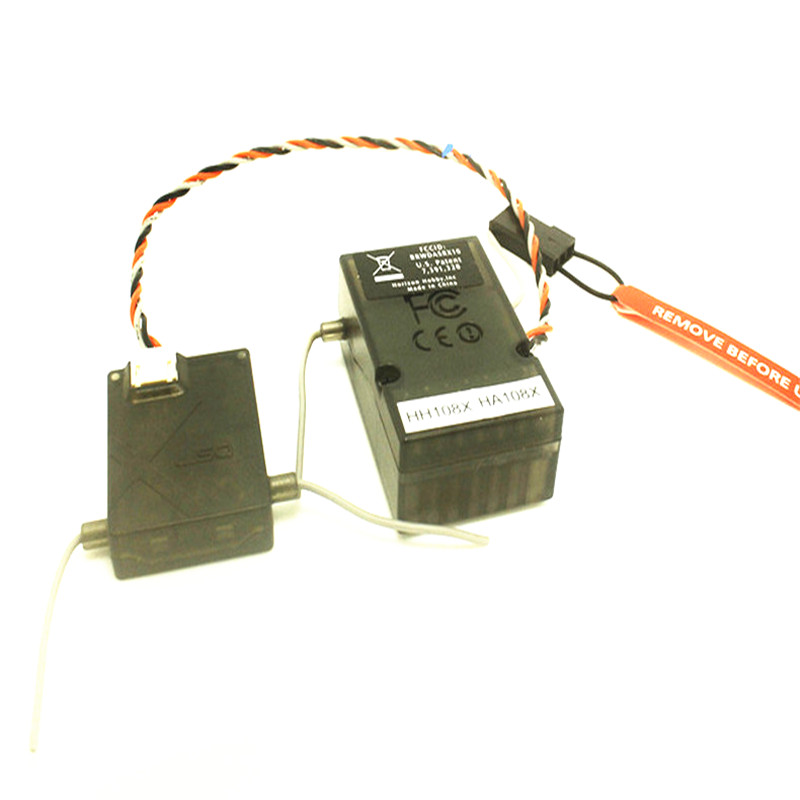 DSMX 6 CH AR6210 RC Receiver RX W/ Satellite Support for DSM2 SPEKTRUM DX6i DX7 DX8 DX9 JR DSX6 DSX7 DSX8 RC Transmitter Radio