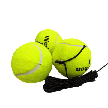 3Pcs Training Tennis Ball Drill Exercise Resiliency Tennis Balls Trainer With String Indoor/Outdoor Sport Trainers Accessories