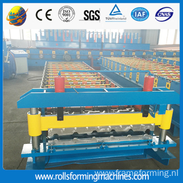 coating coils cut aluminium roofing sheets machines