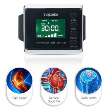 Therapeutic laser machine ultra wave therapy watch
