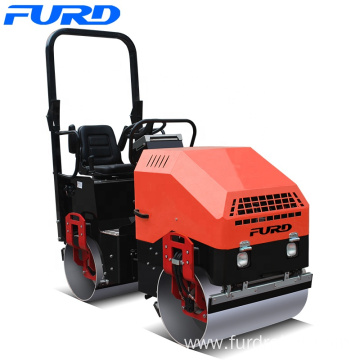 Hot Sell Hydraulic Steering Mini Vibratory Pedestrian Roller For Earth Compaction
