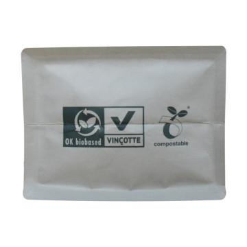 Moisture proof Gravure compostable coffee bag