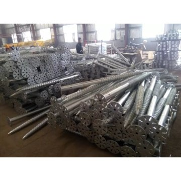 Galvanizing Ground Screw Piles
