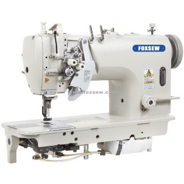 High Speed Split Needle Bar Double Needle Lockstitch Sewing Machine