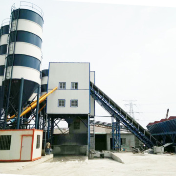 HZS series concrete batching plant sale in Oman
