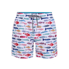Printed Swimwear Men Swim Trunks Beach Leisure Shorts